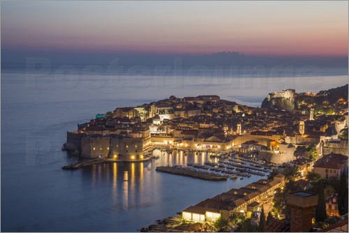 Mike Clegg Photography - Dubrovnik at Sunset