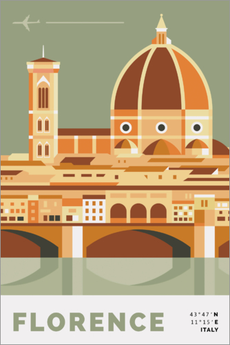 Poster duomo in florence