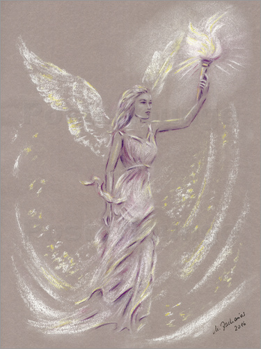 Poster Angel of Hope - Angel Art