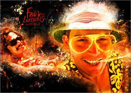 Poster Fear and Loathing in Las Vegas - Movie Film Alternative