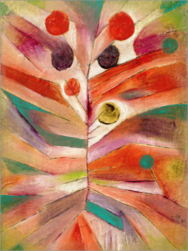 Paul Klee - Federpflanze