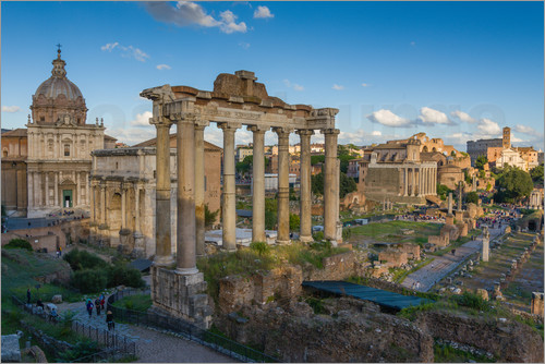 Fine Art Images - Forum Romanum Rom