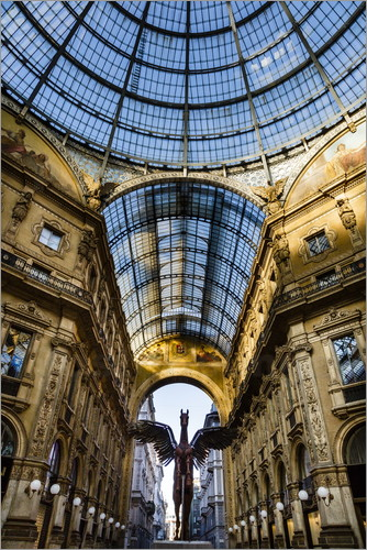 Yadid Levy - Galleria Vittorio Emanuele II, Milan, Lombardy, Italy, Europe