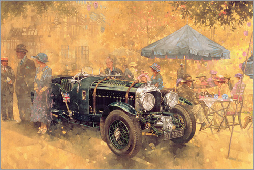 Peter Miller - Garden Party with the Bentley