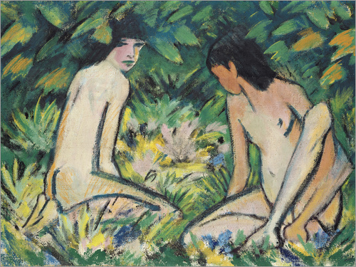 Otto Mueller - Girls in the Open Air