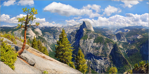 Michael Rucker - Glacier Point Yosemite Valley Kalifornien USA