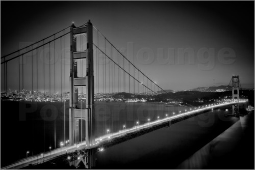 Melanie Viola - Golden Gate Bridge am Abend