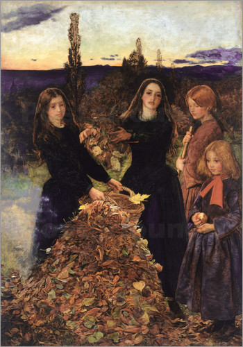 Sir John Everett Millais - Herbstlaub
