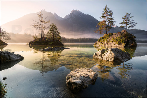 Richard Grando - Hintersee Morgenstimmung