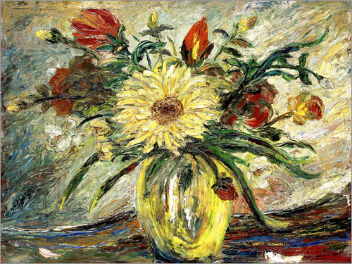 Joaquin Clausell - Hommage an Vincent van Gogh