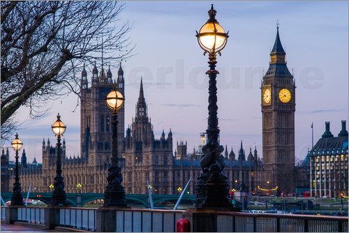 Walter Bibikow - Houses of Parliament und Big Ben