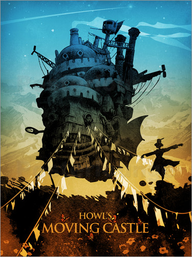 Poster Howl's Moving Castle 2