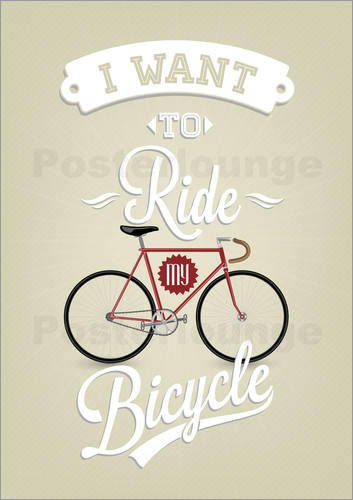 I want to ride Bicycle