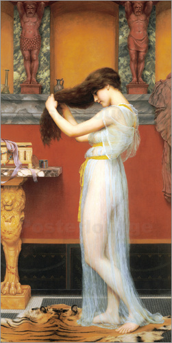 John William Godward - Im Bad