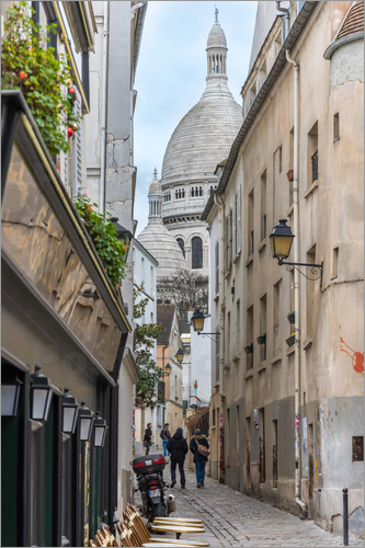 Fine Art Images - In den Gassen von Montmartre Paris