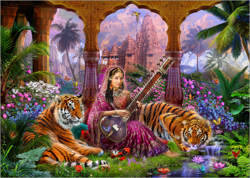 Poster Indian Harmony