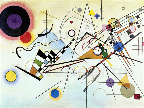 wassily kandinsky bilder online kaufen gratisversand posterlounge. Black Bedroom Furniture Sets. Home Design Ideas