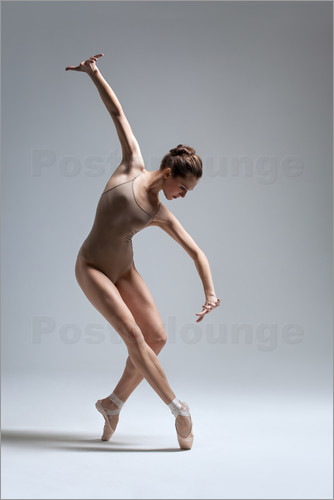 Konzentration in Pose