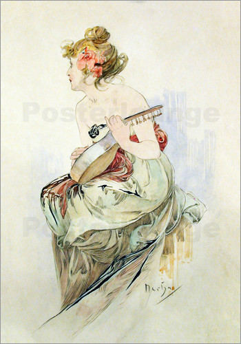 Alfons Mucha - Le Pater