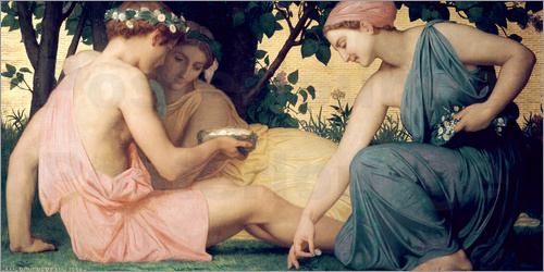 William Adolphe Bouguereau - Le Printemps