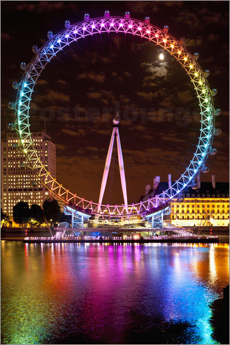 london eye bilder online bestellen gratisversand posterlounge. Black Bedroom Furniture Sets. Home Design Ideas