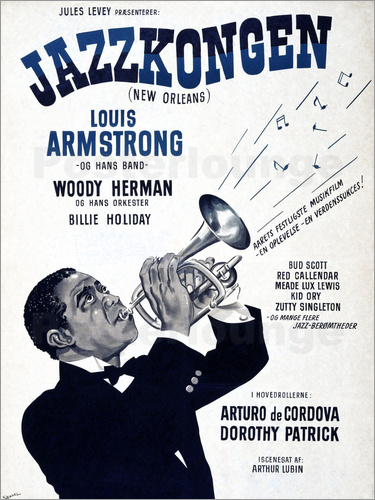 Louis Armstrong in New Orleans