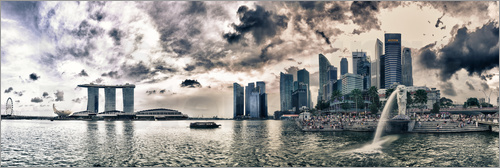 Marina Bay in Singapur