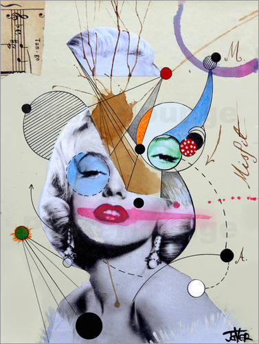 Loui Jover - marylin for the abstract thinker