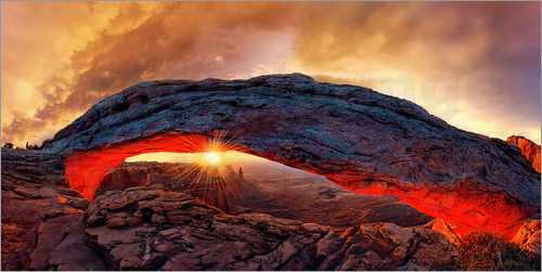 Michael Rucker - Mesa Arch Sonnenaufgang, Canyonlands Nationalpark, Utah, USA