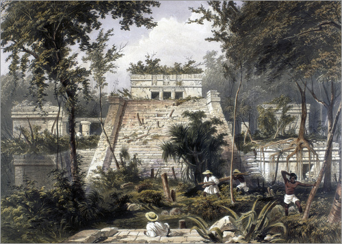 Frederick Catherwood - Mexico: Tulum, 1844.
