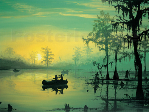 Georg Huber - Mississippi Sunrise