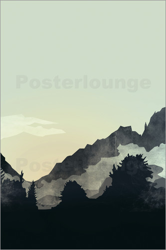 Poster Misty Mountain