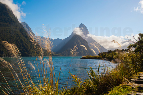 Matthew Williams-Ellis - Mitre Peak, Milford Sound