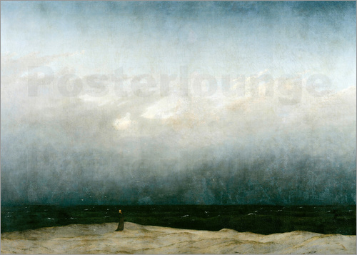 Caspar David Friedrich - Mönch am Meer