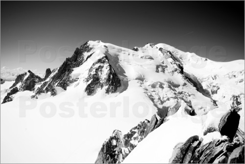 Poster Mont Blanc