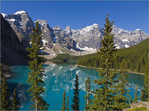 Paul Thompson - Moraine Lake, Canadian Rockies, Alberta, Kanada