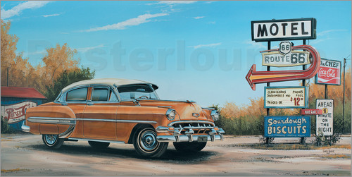 Georg Huber - Motel Route 66