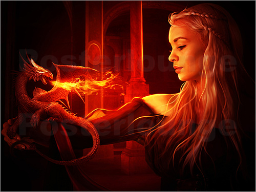 Elena Dudina - Mother of dragons