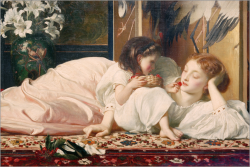 Frederic Leighton - Mutter und Kind