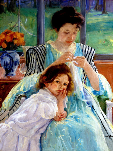 Mary Stevenson Cassatt - Mutter und Kind