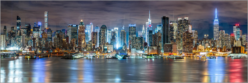 newfrontiers photography - NEW YORK CITY - Skyline Panorama