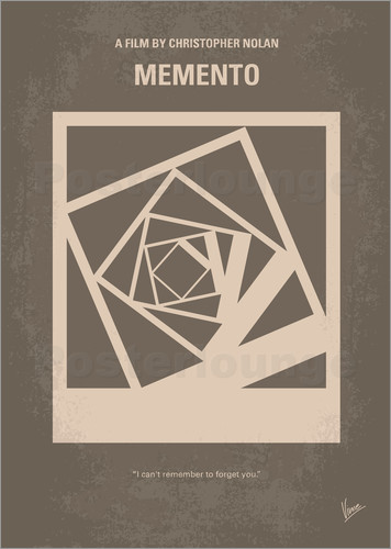 chungkong - No243 My Memento minimal movie poster
