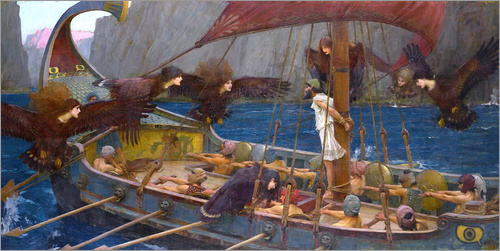 John William Waterhouse - Odysseus und Sirenen