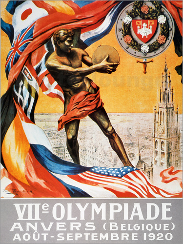 Olympic Games, 1920.