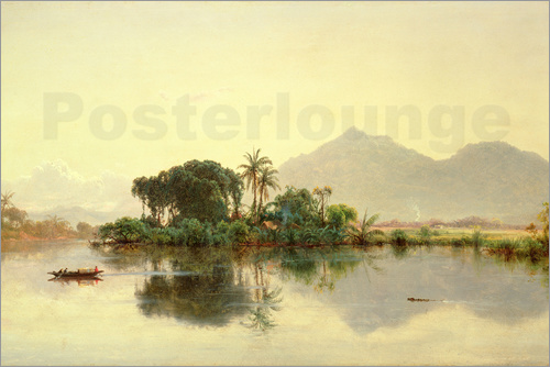 Louis Remy Mignot - On the Orinoco, Venezuela, 1857