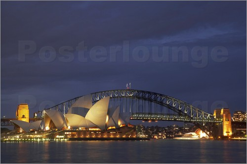 David Wall - Oper von Sydney und Harbour Bridge