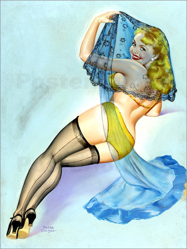 Peter Driben - Pin Up - Der Schleier