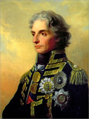 Poster Portrait of Lord Horatio Nelson