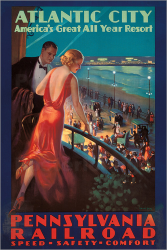 Edward Mason Eggleston - Reisen nach Atlantic City mit der Pennsylvania Railroad