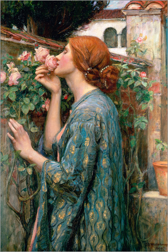 John William Waterhouse - Seele der Rose